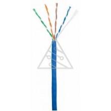 Кабель NETLAN U/UTP 4 пары, Кат.5e (Класс D), 100МГц, одножильный, BC (чистая медь), внутренний, PVC – купить в Lookwider