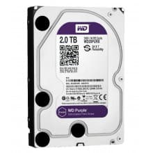 HDD 2 Tb Western Digital Purple WD20PURX SATA 6Gb/s 64Mb 3,5""